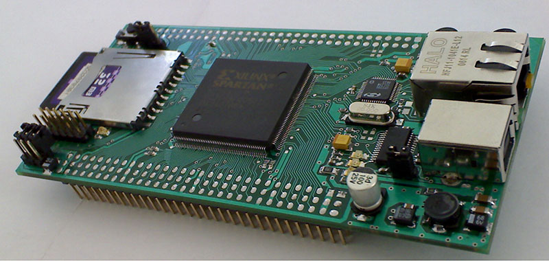 Control Technic | Xilinx FPGA Development Board със Spartan3